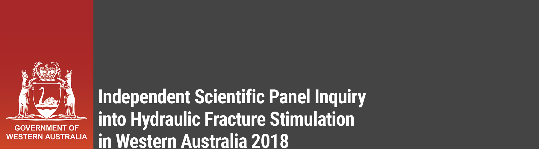 Independent Scientific Panel Inquiry into Hydraulic Fracture Stimulation in Western Australia 2017
